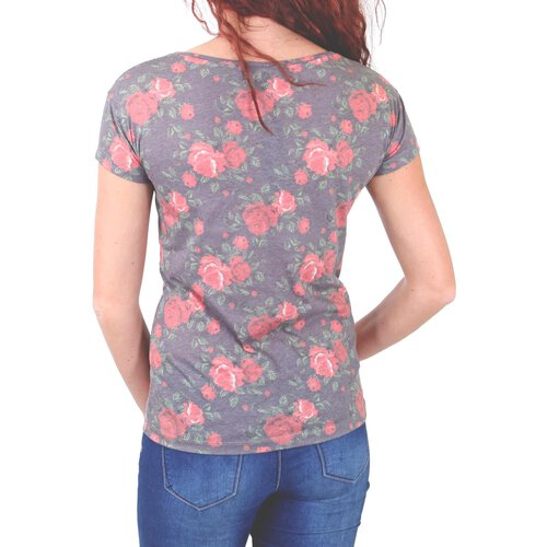 Madonna T-Shirt Damen FLOWI Easy Going Flower Print Shirt MF-408026-V1 Original